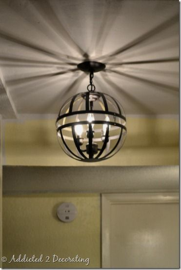 Orb Light Diy Home Decor Pinterest