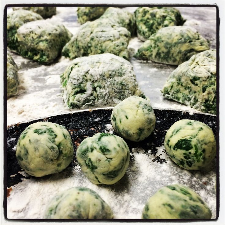 Spinach Gnocchi! | CHEF FOR A DAY | Pinterest