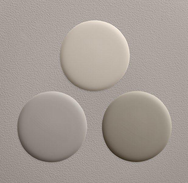 Restoration Hardware paint colors: Stone & Slate