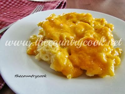 The Country Cook: Homemade Macaroni and Cheese