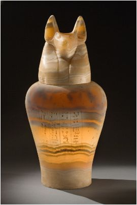 Canopic Jar - c. 400-200 BCE. Egypt