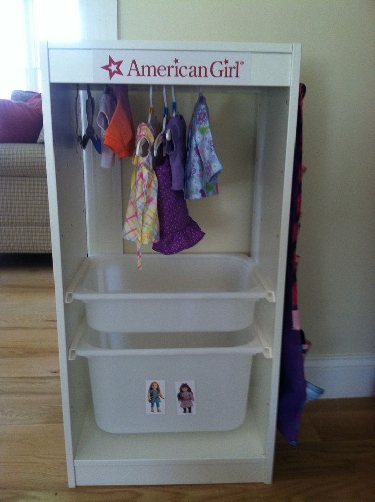 Wardrobe Closet: American Girl Doll Wardrobe Closet