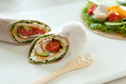 Turkey and Cucumber Wrap with Ranch Dressing | Whole Foods Market