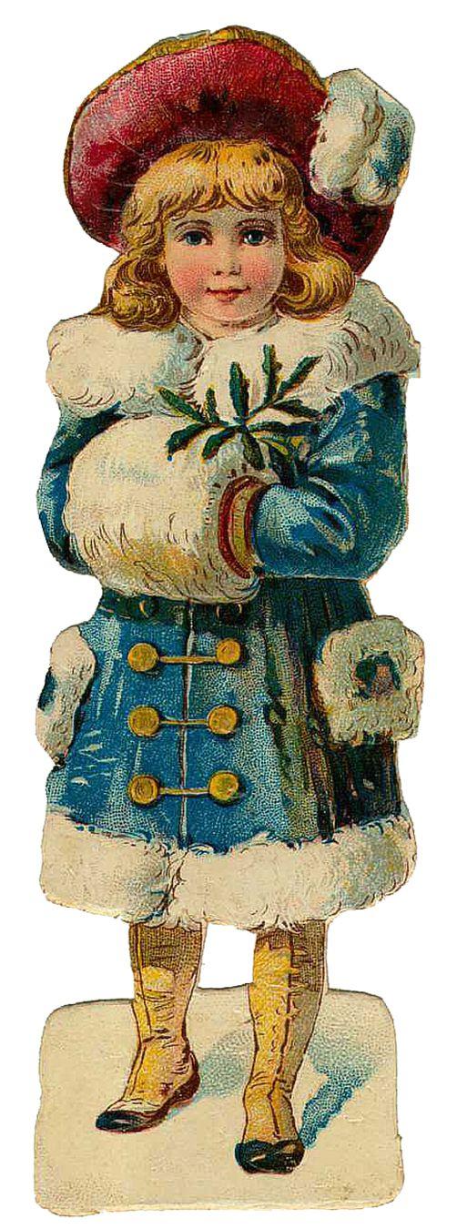 Vintage-Victorian-Christmas-Die-Cut-Clip-Art-34.png (Image PNG, 502×1350 pixels)