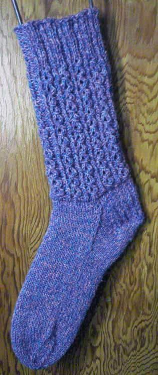 Knitting Stitch Patterns Mock Cable : Mock Cable Socks Knitting Pattern knitting patterns Pinterest