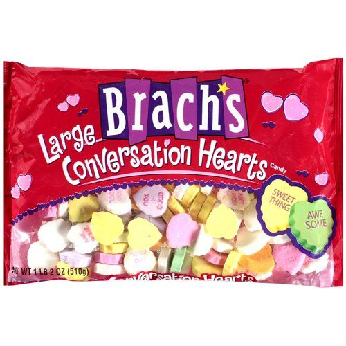 valentine hearts candy calories