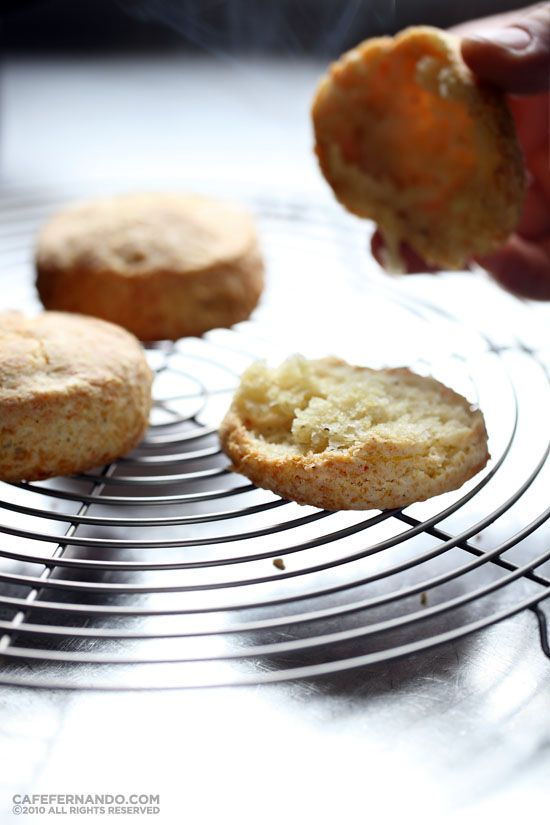 Parmesan and Black Pepper Biscuits | RECIPES: BREADS | Pinterest