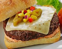 Green Chile Burger with Pepper Jack Cheese | Wisconsin Milk Marketing ...