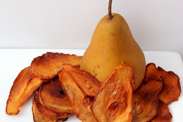pear chips by pastryaffair, via Flickr | . . . . . . YUMMY FOOD ...