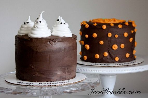 Easy Ghost Cake Cakes And Cupcakes Pinterest