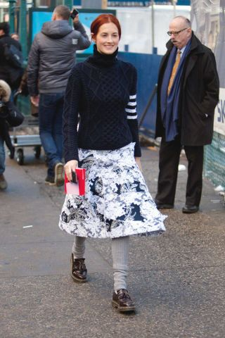 Street Chic: New York Fashion Week - Street Style Photos NYFW Fall 2014