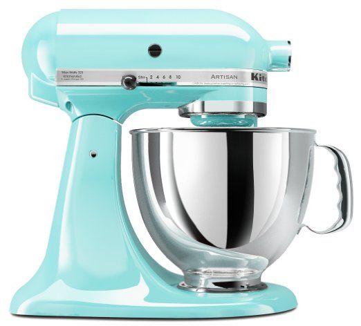 Kitchenaid Mixer Turquoise Color Turquoise Pinterest