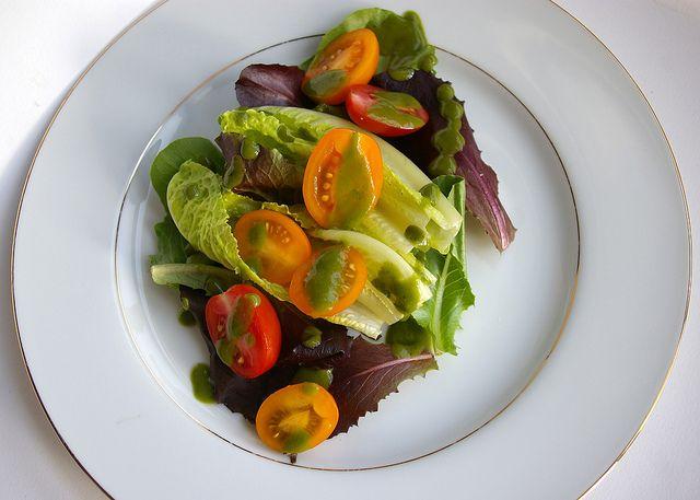 Rebar Basil Vinaigrette - best dressing! | supper · veg | Pinterest