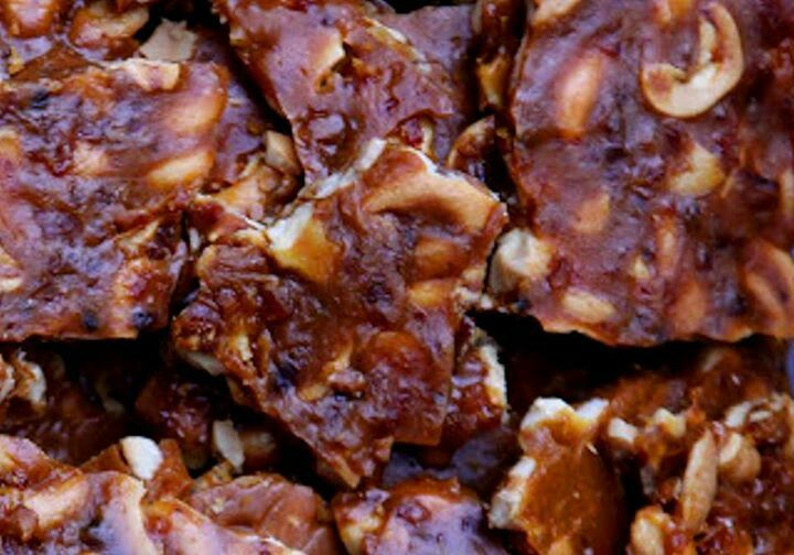 Toasted cashew and bacon brittle | For the love of BACON | Pinterest