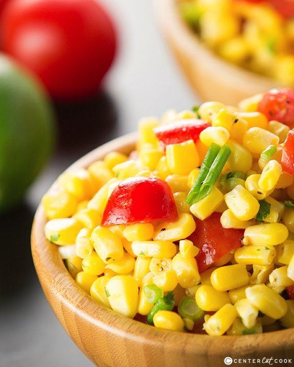 Summer Corn Salad | CenterCutCook.com