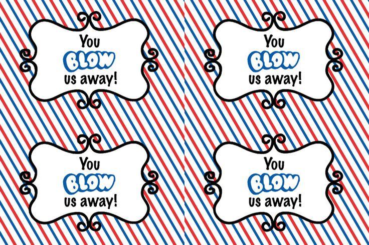 Blow pop candy gram candy gram pinterest