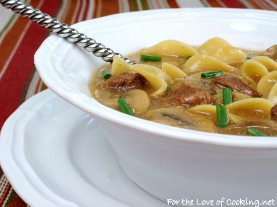 Beef stroganoff soup | Yummy | Pinterest