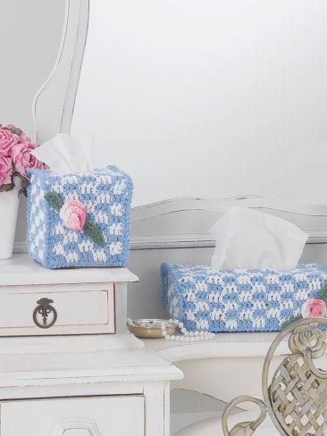 Free Knitting Pattern For Tissue Holder : FREE KNITTING PATTERNS FOR TISSUE BOXES   KNITTING PATTERN