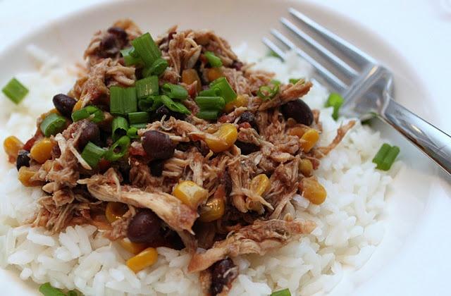 Crockpot Santa Fe Chicken | Crock Pot Recipes | Pinterest