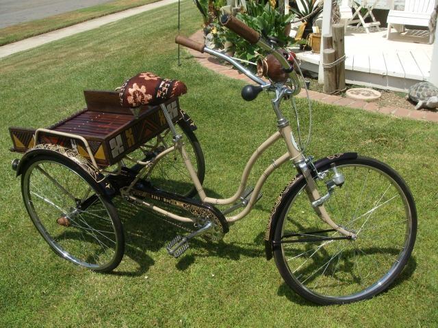 Tiki Trike Idea  Beach Cruiser  Bikes And Trikes  Pinterest