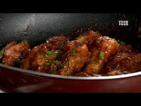 Crisp Chicken Wings - Tea Time | Chicken/ Starters | Pinterest