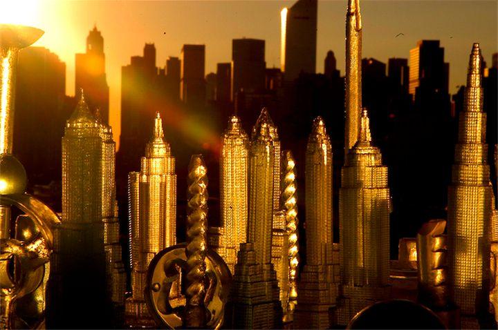 Az aranyozott város ...