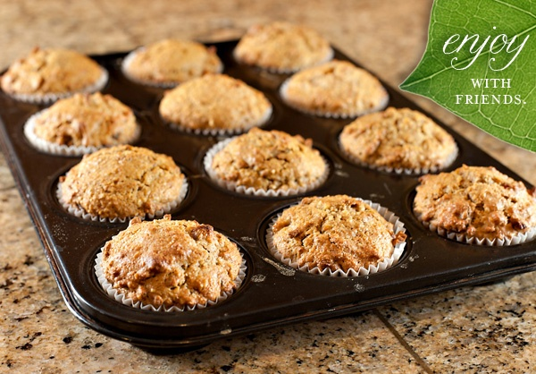 natural bran muffins. i substituted applesauce for 1/3 of the butter ...