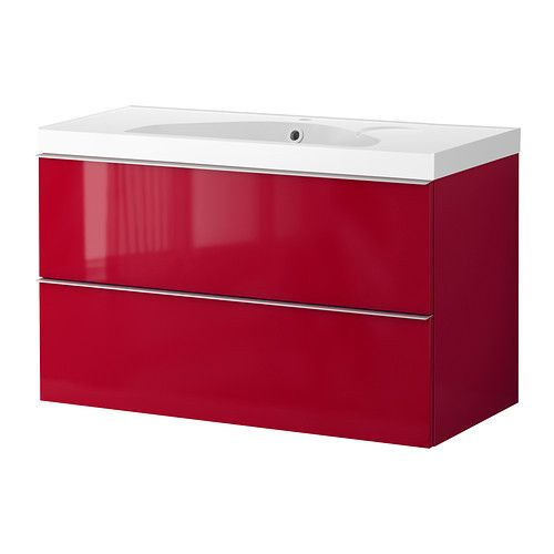 Luxe Badkamer Accessoires ~ GODMORGON EDEBOVIKEN Wash stand with 2 drawers IKEA 10 year guarantee