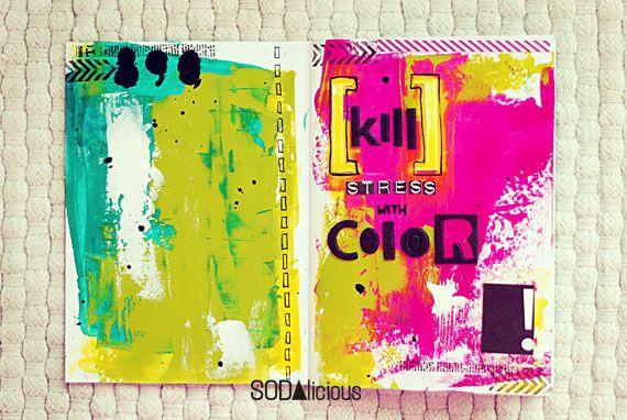 SODAlicious: No 2 ► art journal - by Nulka