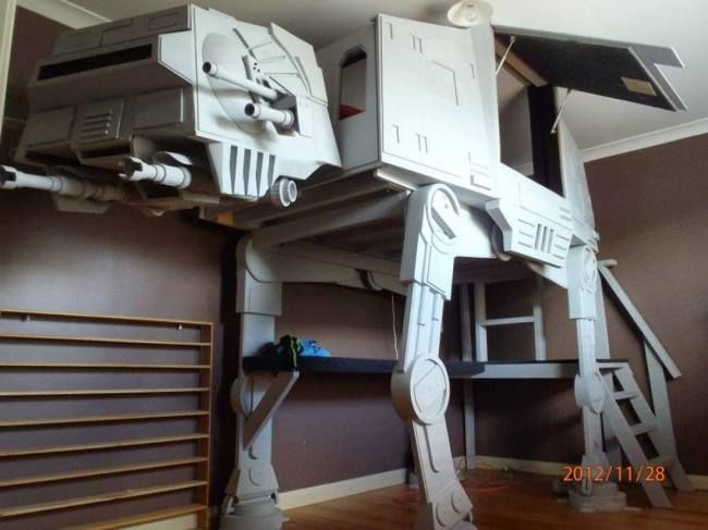 Only The Coolest Bunk Bed Ever Star Wars Pinterest