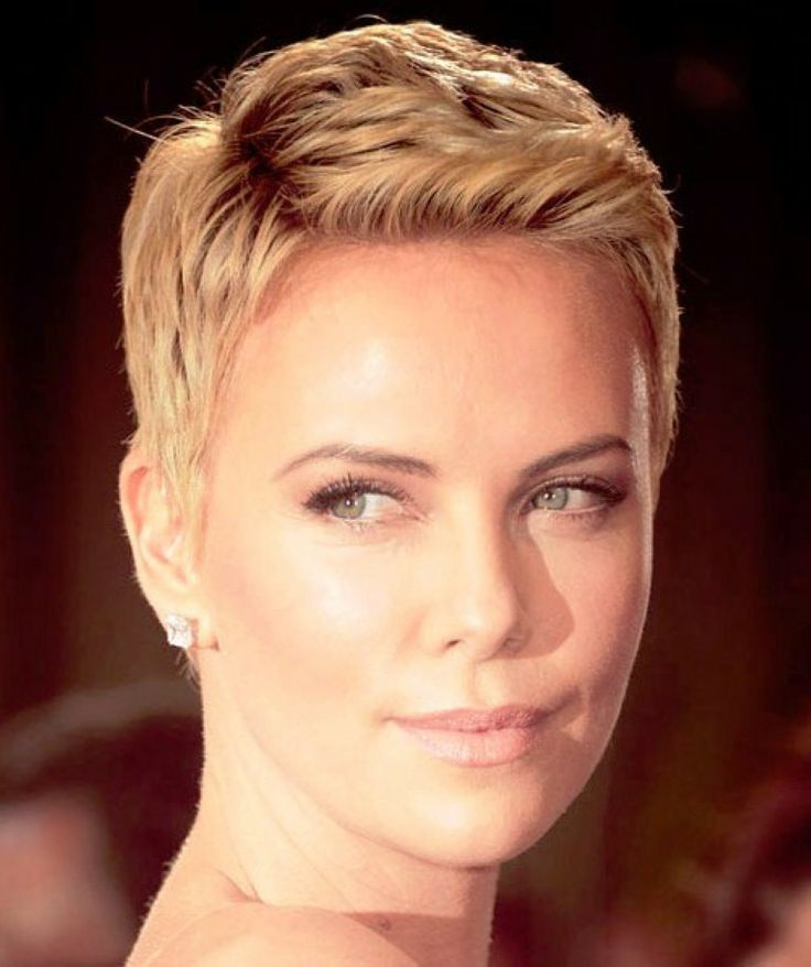 nice Charlize Theron Short Hair | Because I Can | Pinterest