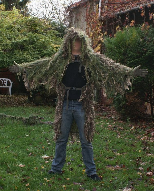 Ghillie Cape
