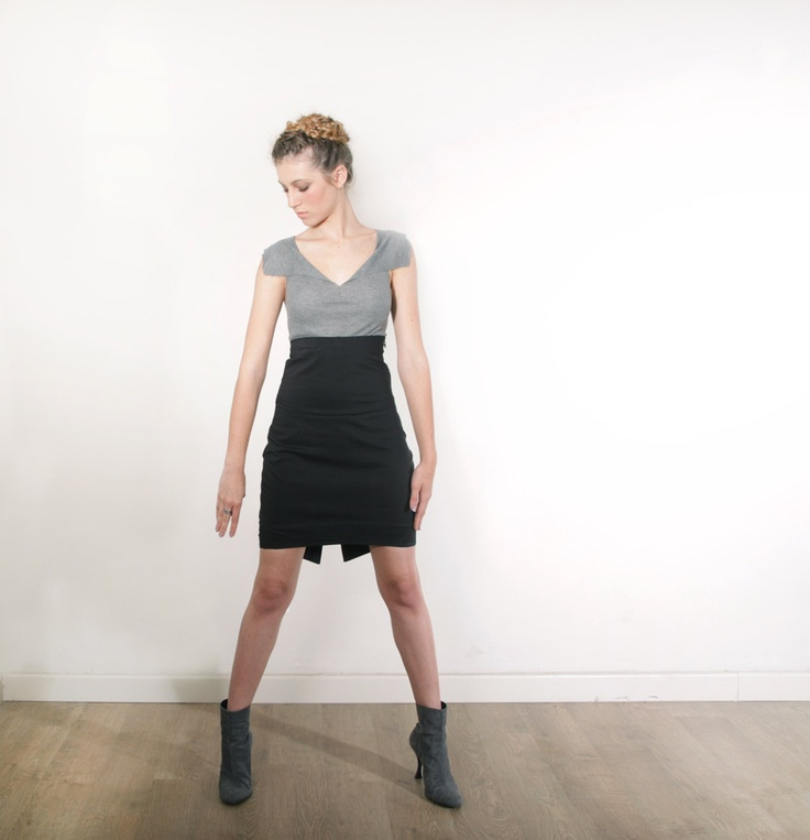 pencil skirt black mini black skirt by ciporkin on etsy