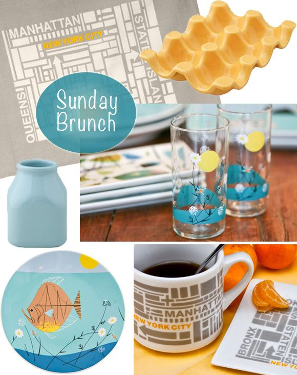 perfect accessories for Sunday brunch