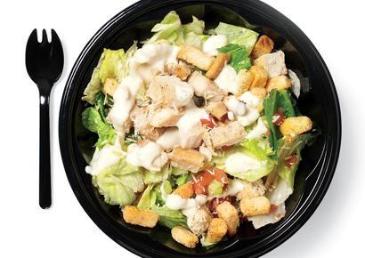 KFC Roasted Chicken Caesar Salad | #3- Healthy Foods! | Pinterest
