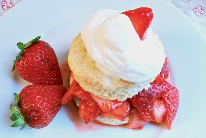 Classic Strawberry Shortcake: http://blogs.babble.com/family-kitchen ...