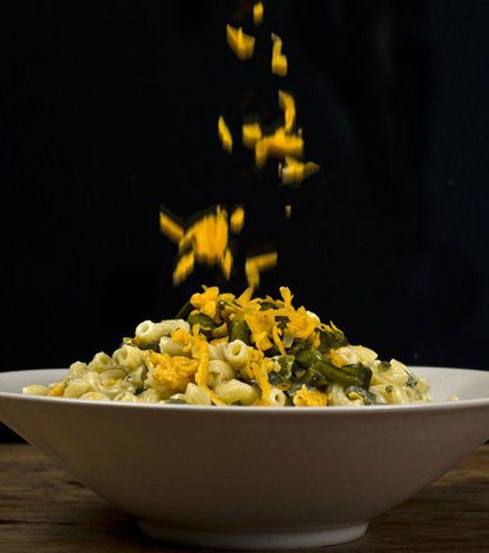 Green Chile-Cheddar Macaroni Salad | Salads | Pinterest