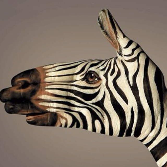 Hand animal painting 4mayagames pinterest for Hand painting art