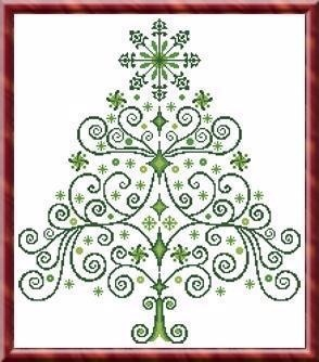 Christmas Tree 2 - Cross Stitch Pattern