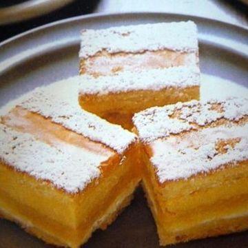 Mocha Custard Square | Biscuits/Slices | Pinterest