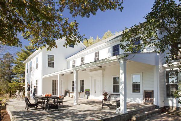 New england farmhouse home design ideas pinterest for New old farmhouse plans