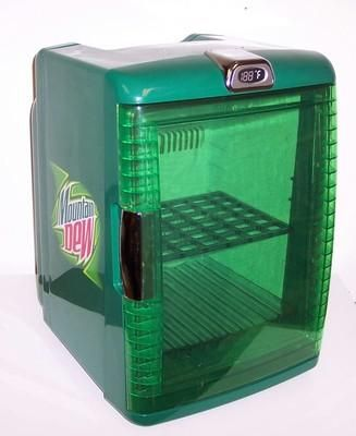 I found 'Mountain Dew MINI FRIDGE & Food Warmer Mt. Dew Cooler' on Wish, check it out ...