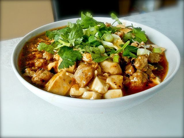 Ffiery Mapo tofu recipe | Cooking: Healthy | Pinterest