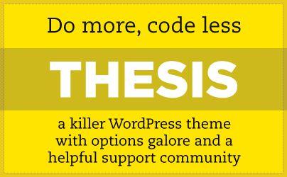 thesis skins wordpress