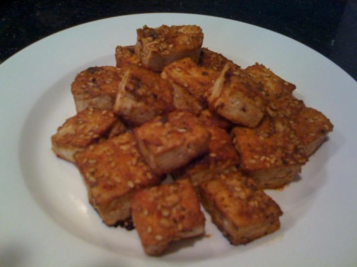 Sweet Soy Baked Tofu Bites | Food I wish to make. | Pinterest