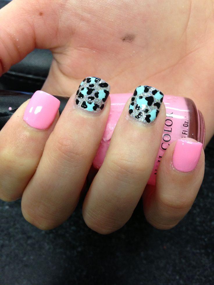cheetah nail design instagram: nailsbyhenryl