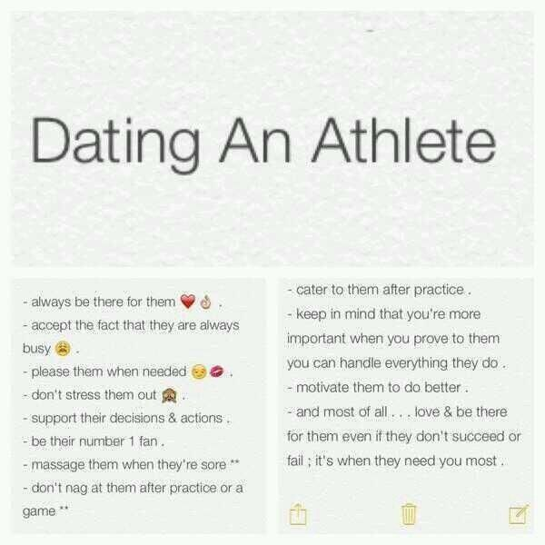 What Its Really Like To Date A Professional Athlete