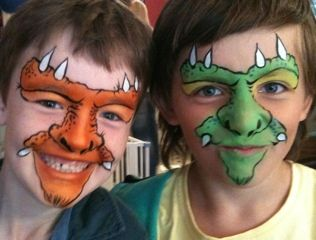 monster facepaint - Bing Images