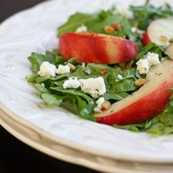 ... goat cheese. A great fresh salad for summer!~minus the goat cheese for