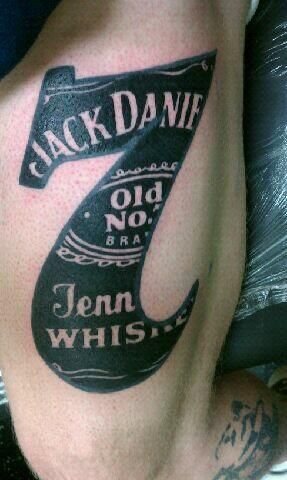 jack daniels tattoo blake label. Black Bedroom Furniture Sets. Home Design Ideas